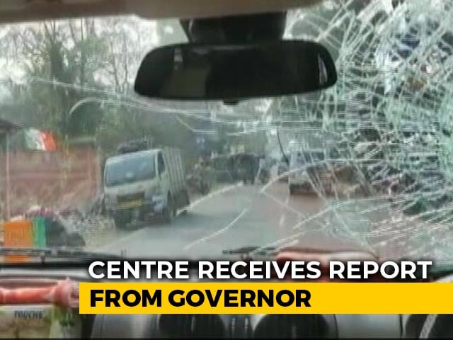 Video : Home Ministry Summons Top 2 Bengal Officers After BJP Chief Convoy Attack