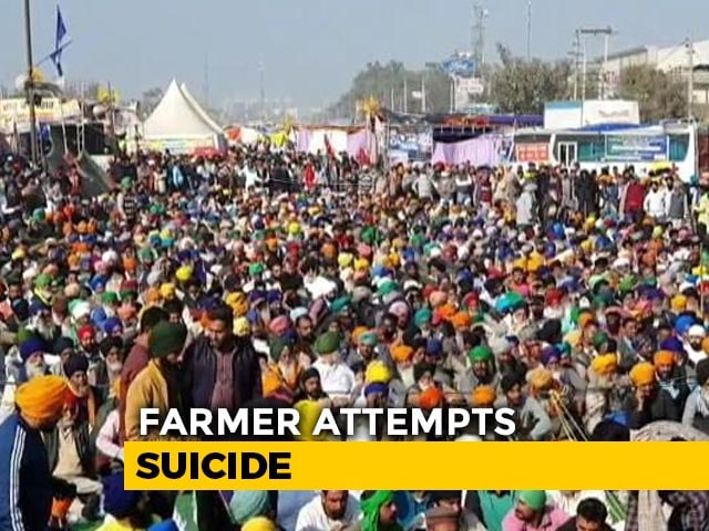 """Video : """"PM, Amit Shah Must Be Held Responsible"""": Farmer Who Attempted Suicide"""