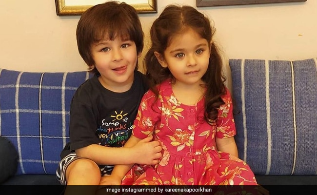 The Internet Is All Hearts For This Pic Of Taimur And Sister Inaaya