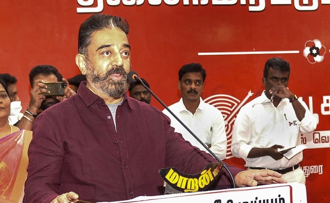 Kamal Haasan Says Party Alotted 'Battery Torch' Symbol For Upcoming Polls