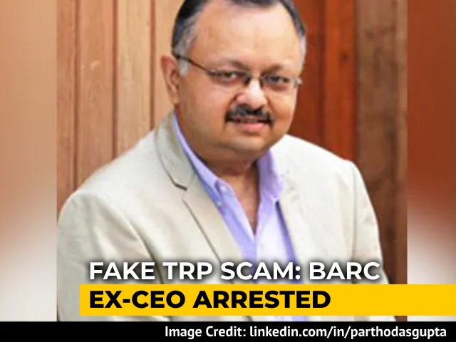 Video : TV Ratings Agency BARC's Former CEO Arrested In Alleged Ratings Scam