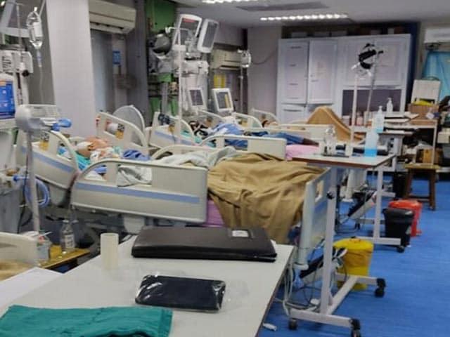 Video : Inside Delhi AIIMS Ward, Patients Left Alone As Nurses Go On Strike