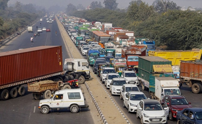 See Roads That Are Open, Blocked At Delhi's Border Amid Farmers' Protest