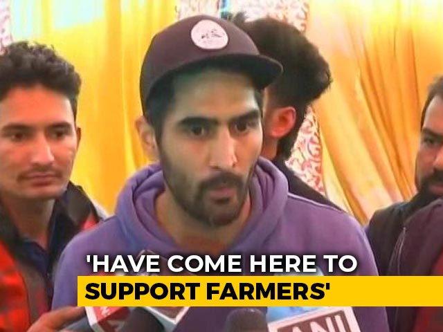 Video : 'Have Come Here To Support Farmers': Vijender Singh