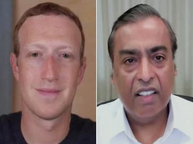 Video : Mukesh Ambani, Mark Zuckerberg Discuss The WhatsApp-Jio Impact On India