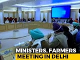 Video : Farmers Meet Ministers For Talks To Resolve Massive Protests