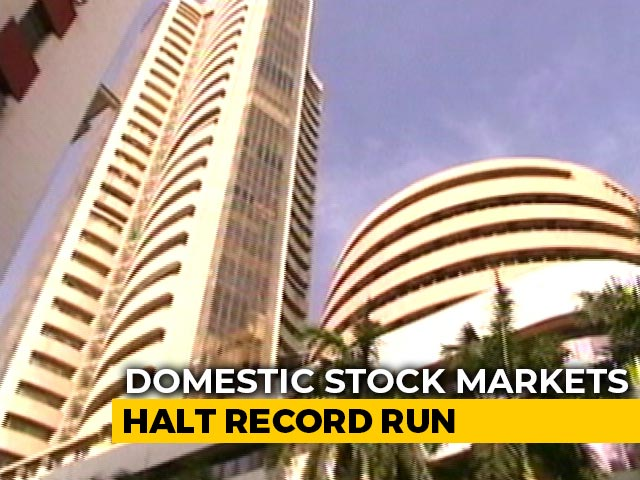 Video : Sensex Touches All-Time High In Opening Trade