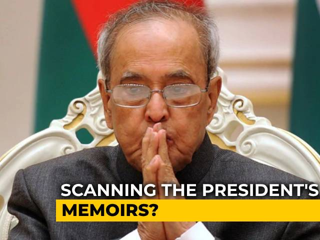 Video : Stop Memoir, Says Pranab Mukherjee's Son; Please Don't, Responds Daughter
