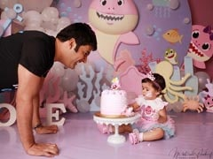 Kapil Sharma Shares Pics From Daughter Anayra's First Birthday Party