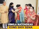 Video : Actor Urmila Matondkar, Who Quit Congress Last Year, Joins Shiv Sena