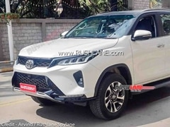 2021 Toyota Fortuner Legender Variant Spied Ahead Of Launch