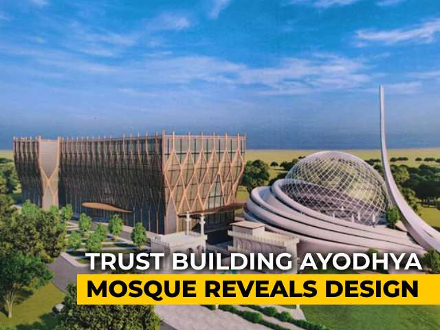 Video : A Glimpse Of Futuristic Ayodhya Mosque And Hospital