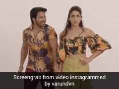 वरुण धवन ने सारा अली खान के साथ शेयर किया डांस वीडियो, कहा- सामने से हट जा भाभी खड़ी है