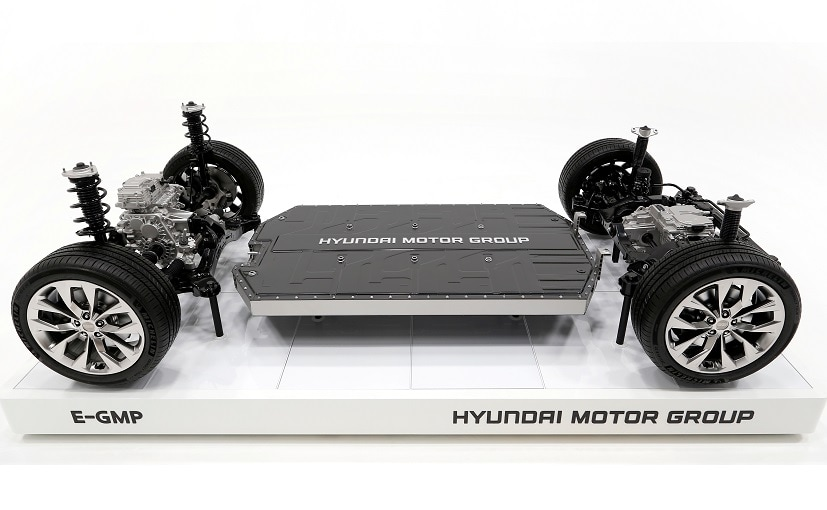 Hyundai hopes its Electric Global Modular Platform (E-GMP) will allow it to use its own battery tech