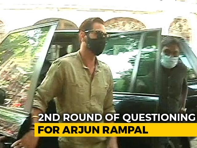 Video : Bollywood Actor Arjun Rampal Appears Before Anti-Drugs Agency