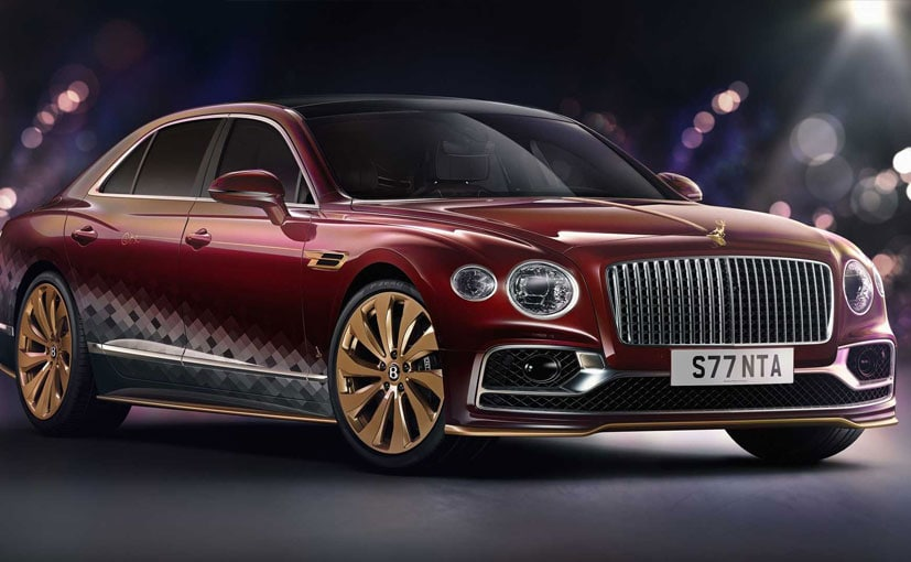 The new Bentley Flying Spur Reindeer Eight has been designed in Christmas theme.