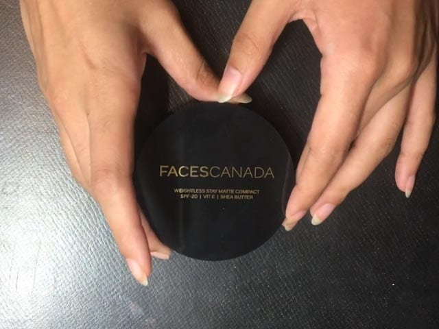 Video : Beauty Review - Faces Canada Weightless Matte Compact
