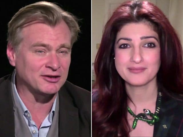 Twinkle Khanna Chats With Christopher Nolan About Tenet