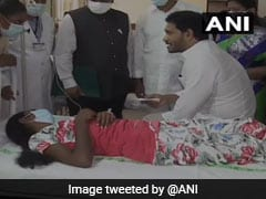 Andhra Chief Minister Visits Those Admitted To Hospital With Mystery Disease
