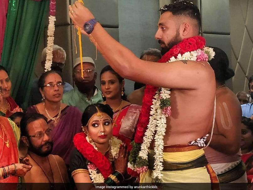 Kolkata Knight Riders Spinner Varun Chakravarthy Marries Long-Time Girlfriend Neha Khedekar