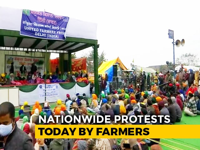 Video : Farmers Step Up Pressure With Hunger Strike Today
