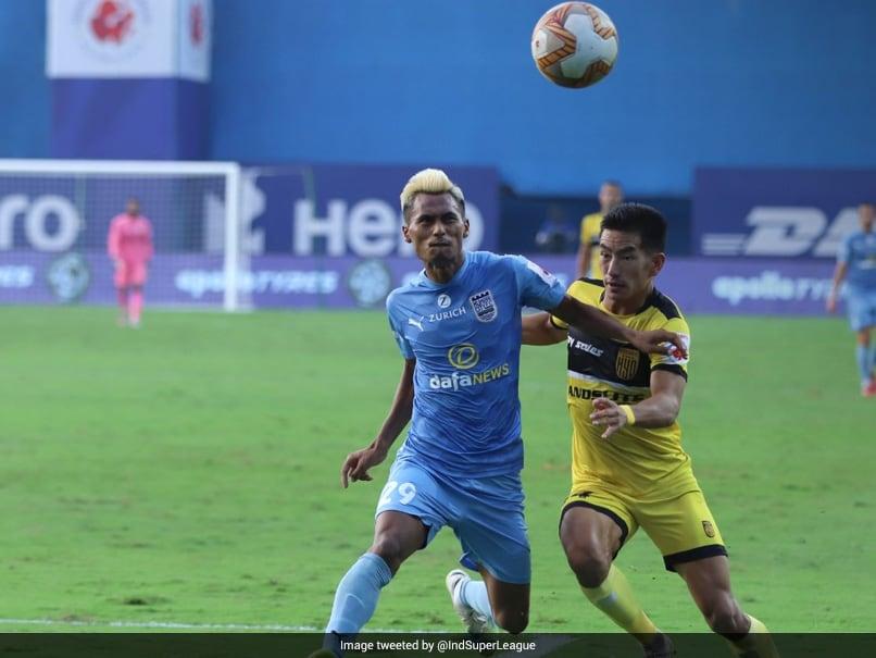 ISL: Mumbai City Inflict First Defeat Of Season On Hyderabad