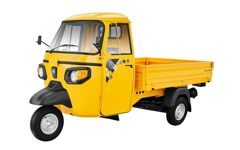 The new Piaggio Ape' Xtra LDX+ has been launched at an introductory price of Rs. 2.65 lakh