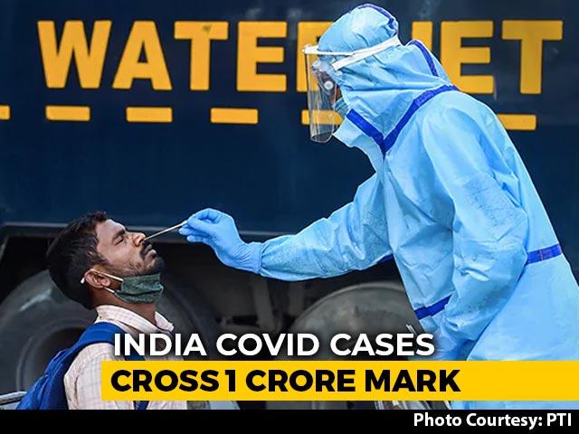 Video : India's Coronavirus Cases Cross 1 Crore-Mark, 1.45 Lakh Deaths