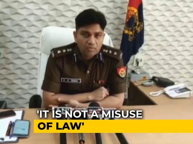 "Video : ""No Violation"": UP Cops' Defence After Stopping Muslim Couple's Wedding"