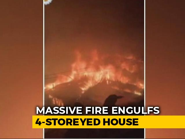 Video : Eight Families Left Homeless In Shimla Fire That Took 3 Hours To Put Out