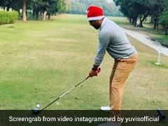 Yuvraj Singh Shows Off Golf Skills, Wishes Fans On Christmas. Watch