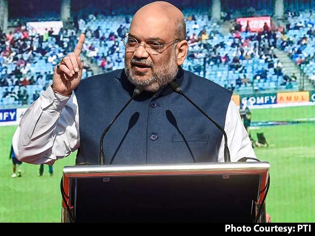 "Video : Amit Shah On Arun Jaitley's ""Contribution"" To Cricket Amid Row On Statue"
