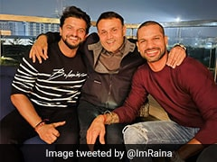 """Karan Arjun Aa Gye"": Suresh Raina After Meeting Shikhar Dhawan And Virender Sehwag"