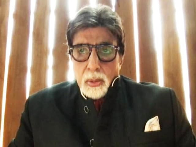 Video : Amitabh Bachchan Shares His Swasthya Mantra
