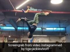 Tiger Shroff ने लगाई 10 फीट ऊंची छलांग, Video पोस्ट कर बोले- लगता है अब छत ऊंचा करने का समय...