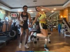 Sara Ali Khan Borrowed Some Nineties Music For Her New Workout Video