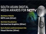 साउथ एशियन डिजिटल मीडिया अवार्ड 2020 में NDTV का जलवा,सर्वश्रेष्ठ वेबसाइट में सिल्वर अवार्ड!