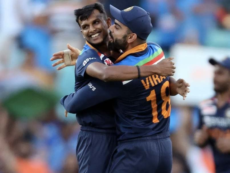 """India vs Australia: T Natarajan Happy With """"First Series Win"""" For Country"""