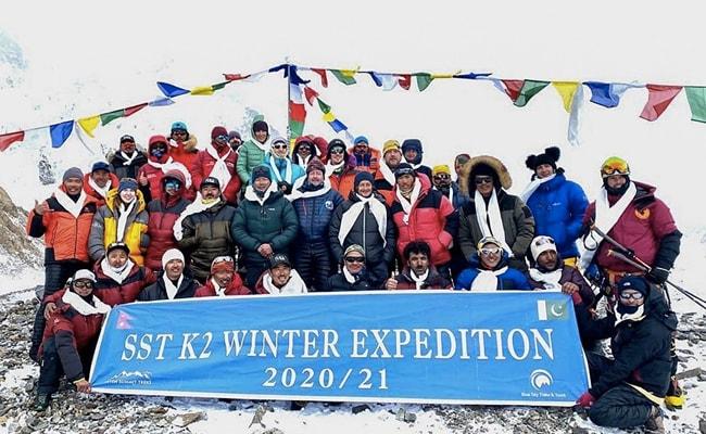 Nepali Climbers Reach Base Camp After Scaling K2, World's 2nd Highest Mountain