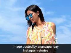 Ananya Panday ने समुद्र किनारे ग्लैमरस अंदाज में दिया पोज,  Photo शेयर कर बोलीं- दिमाग अब भी वहीं लगा है