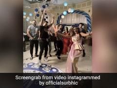 सुरभि चंदना ने 'नागिन 5' की टीम संग किया डिस्को डांस,  रेट्रो लुक में एक्ट्रेस का Video वायरल