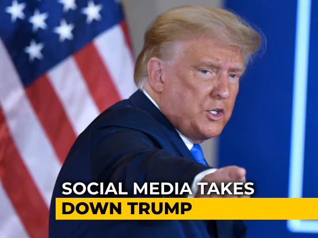 Video : Trump's Facebook, Instagram Accounts Blocked For Rest Of His Term