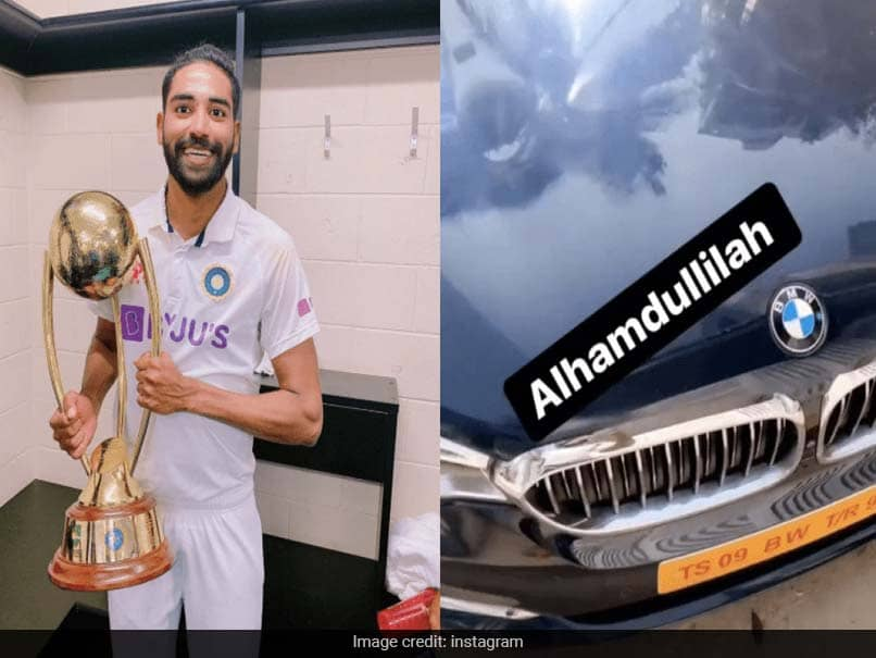 Mohammed Siraj Gifted himself new BMW car of such price, VIDEO