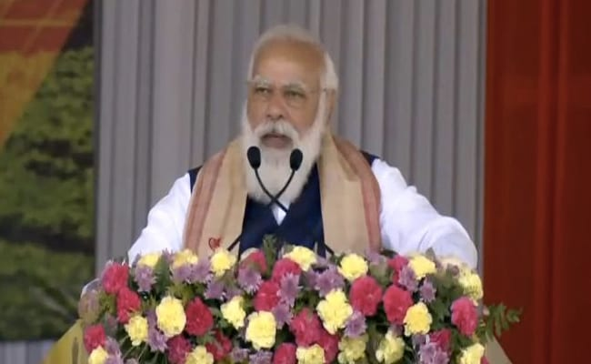 PM Modi Slams Previous Governments In Assam During Visit To State