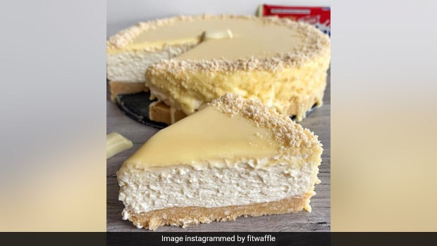 Viral Recipe: This No-Bake White Chocolate Cheesecake Deserves Your Undivided Attention