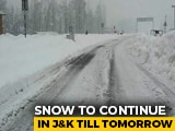 Video : Fuel Rationing, Key Roads Blocked After Heavy Snowfall In Kashmir