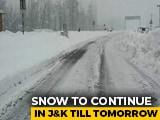 Video : Fuel Rationing, Key Roads Blocked After Heavy Snowfall In Kashmir