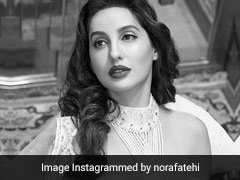Ditch That Necklace For A Statement Pearl Blouse Like Nora Fatehi