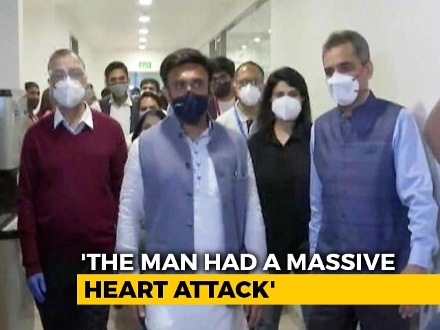 Video : Karnataka Man, 43, Had Heart Attack, Death Not Related To Vaccine: Minister