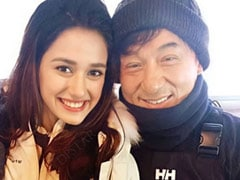"""Disha Patani Shares Throwback Pic With Jackie Chan, """"Happiest Day Of My Life,"""" She Writes"""